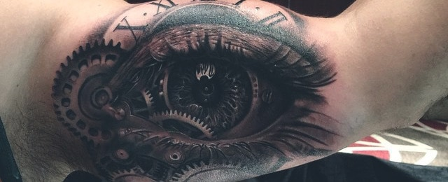 Eye Tattoo Designs For Men