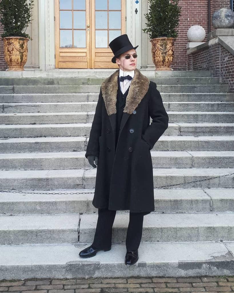 Fabulous Fur Coat Victorian Style
