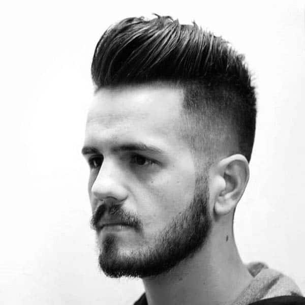 Fade Hairstyles Medium Length Thick Hair For Males