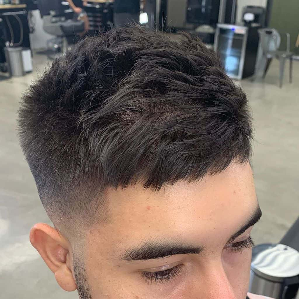 Fade Slick Back Cut