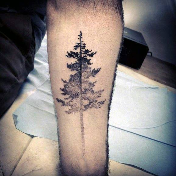 50 simple tree tattoo designs for men forest ink ideas rh nextluxury com simple tree of life tattoos simple pine tree tattoos