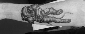 30 Falling Tattoo Designs For Men – Downward Ink Ideas
