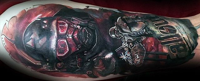 70 Fallout Tattoo Designs For Men – Video Game Ideas