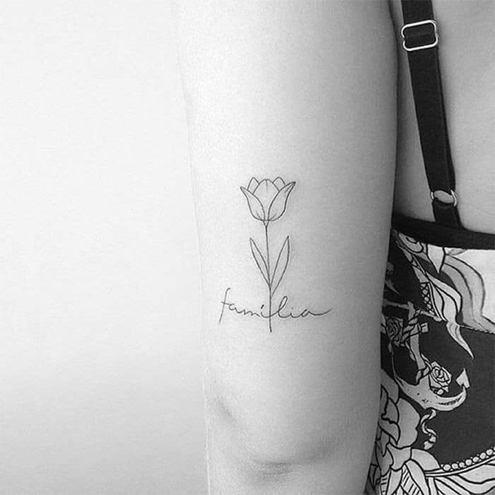 Familia Tulip Tattoo