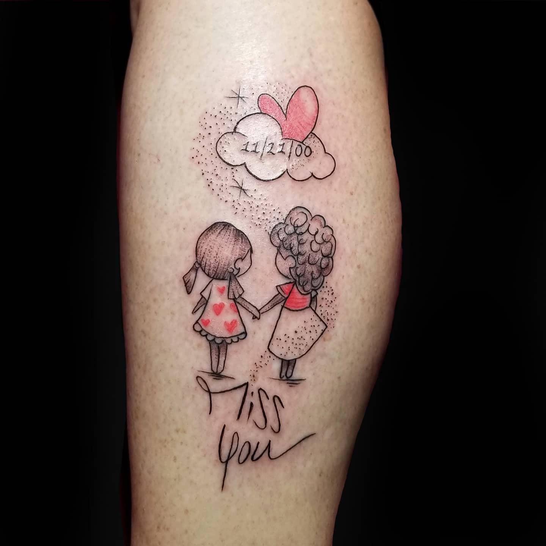 Family Cute Tattoo Hardtimestattoo