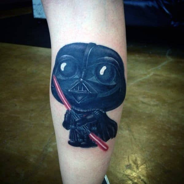 Family Guy Stewie Darth Vader Themed Tattoo Design Inspiration