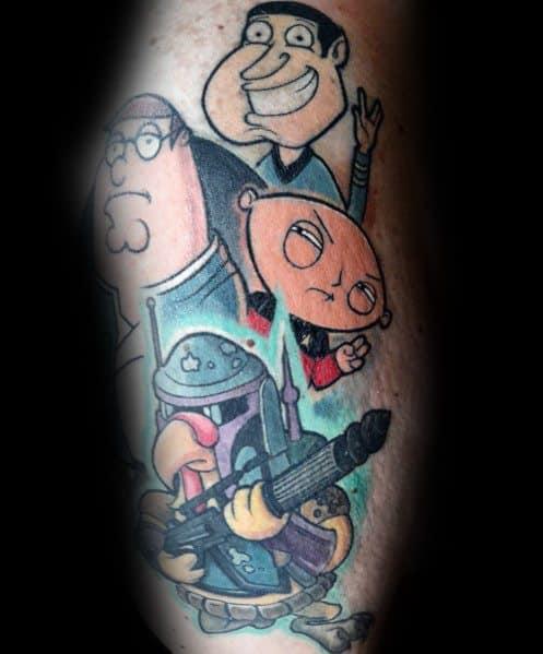 Family Guy Tattoo On Man