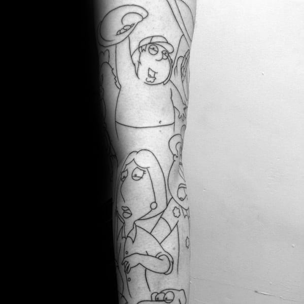 Family Guy Tattoos For Men