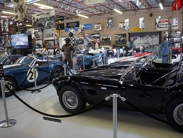 Famous Shelby Midcentury Racecars