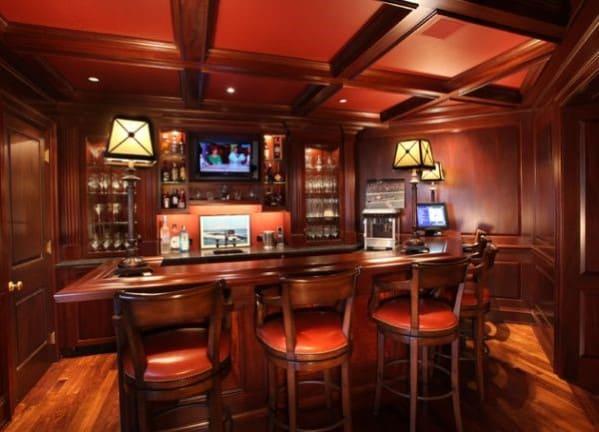 Fancy Home Bar Decor