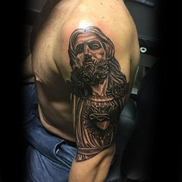 Fantastic Lord Tattoo Male Shoulders