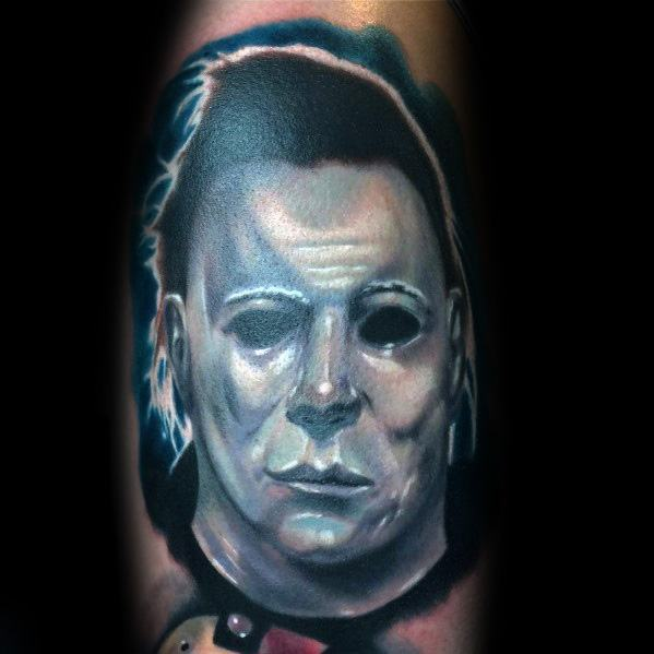 Fantastic Michael Myers Tattoo Designs For Men On Arm