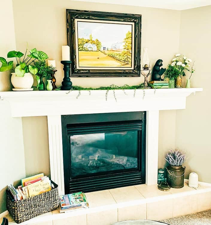 Farm House Mantel Decor Ideas Amberisborn