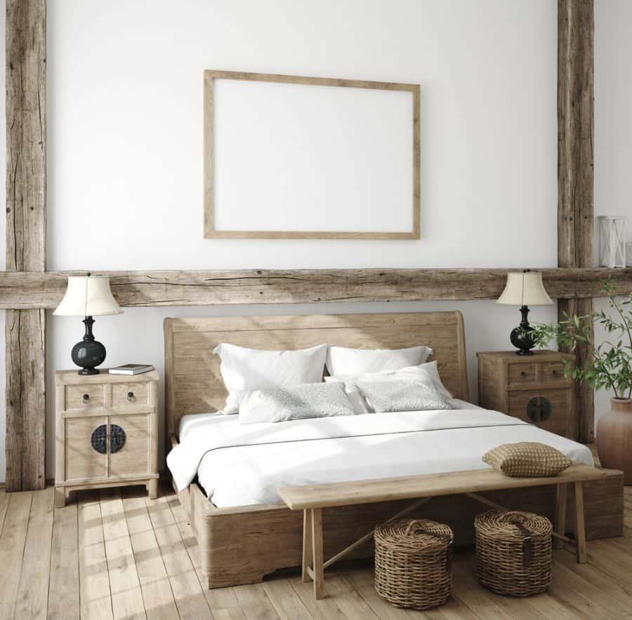 rustic farmhouse bedroom ideas 2