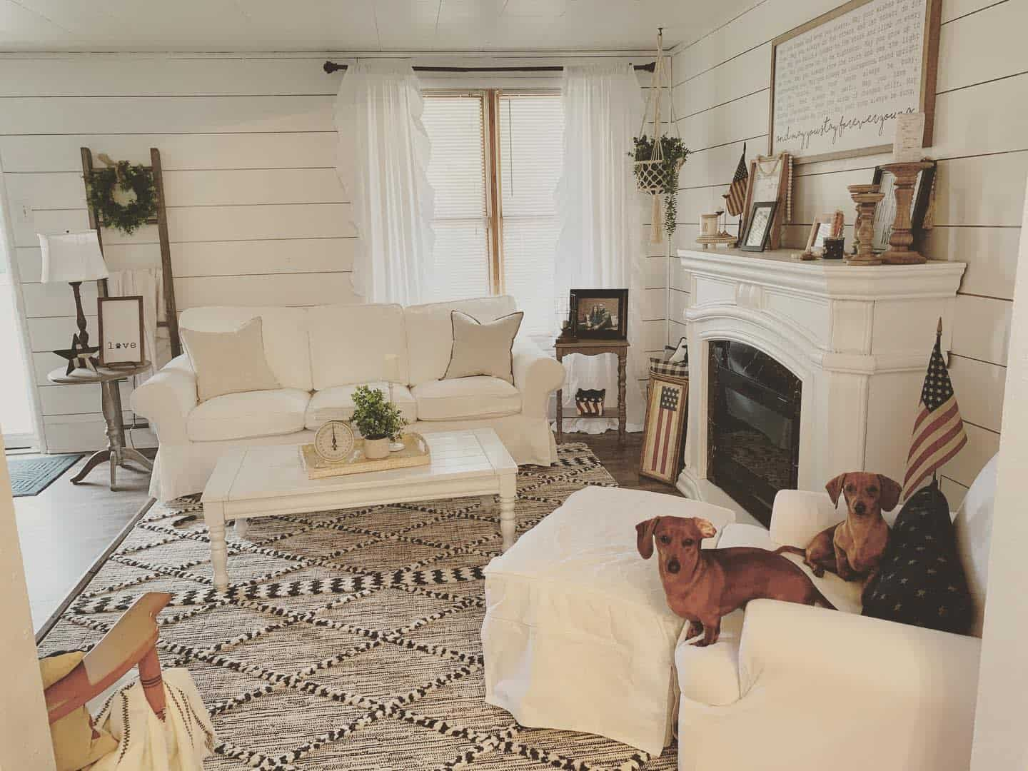 Farmhouse Chic Farmhouse Living Room Ideas Diyobsessedhome