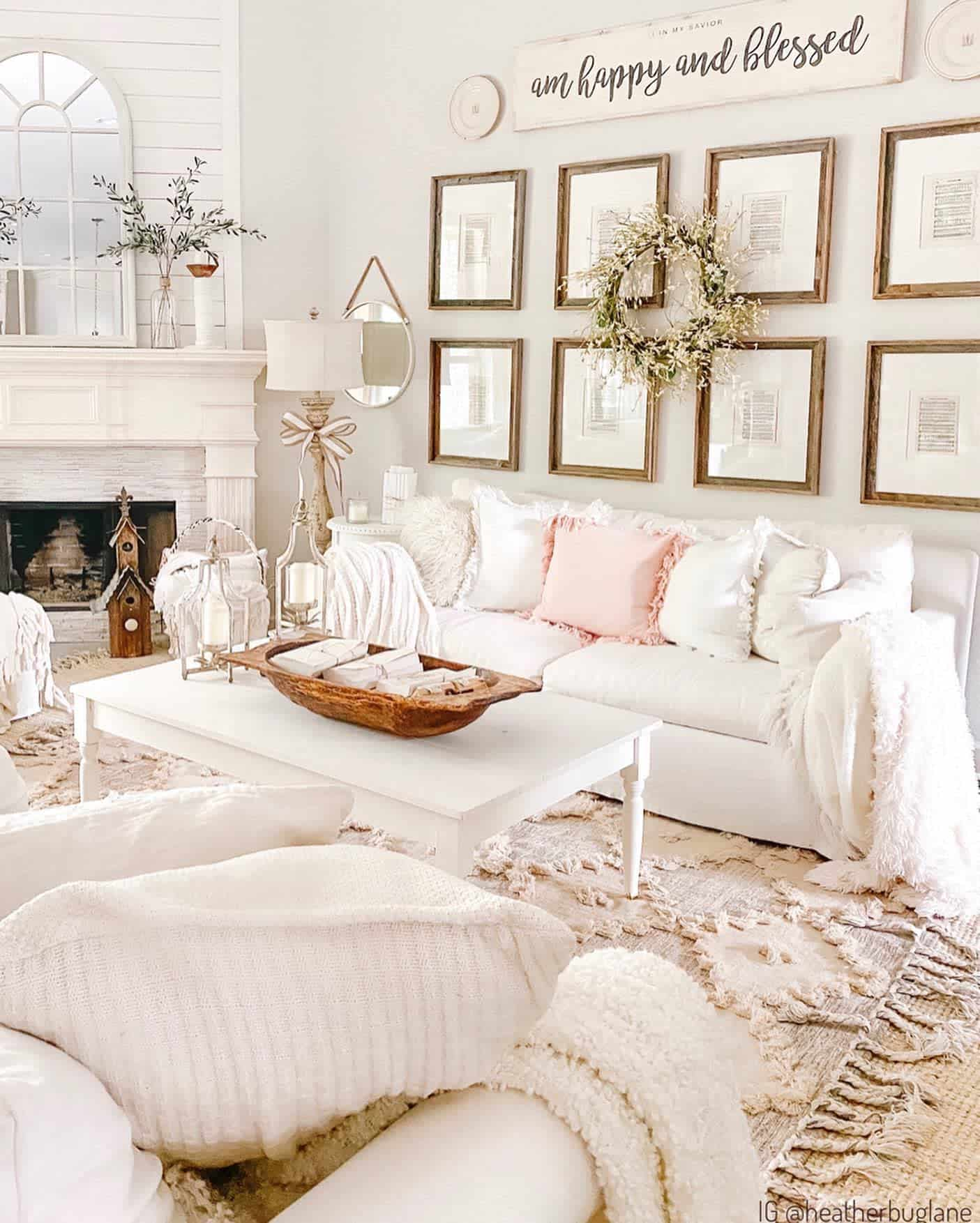 Farmhouse Chic Farmhouse Living Room Ideas Heatherbuglane