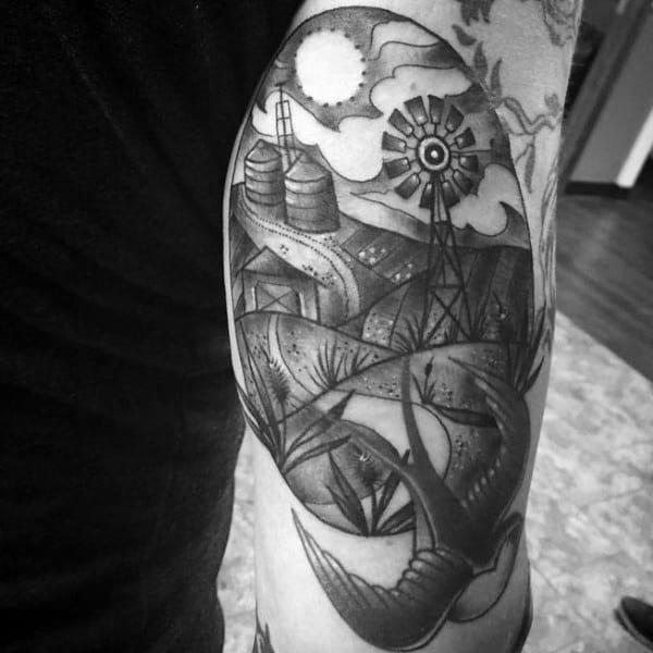 Farming Male Tattoos