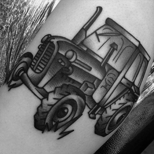 Farming Tattoo Designs For Men