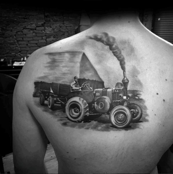 Farming Tattoos For Men