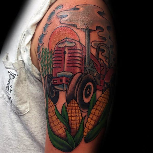 Farming Themed Tattoo Ideas