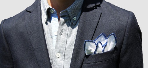 Fashion Folded Pocket Square