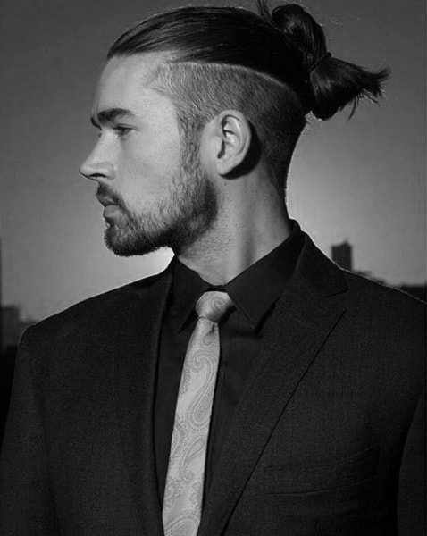 samurai hairstyles : Samurai Topknot 40 samurai hairstyles for men - modern masculine man ...