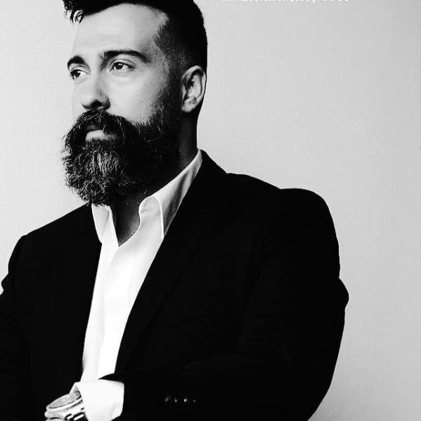 Fashion Mens Beard Styles Classy Ideas