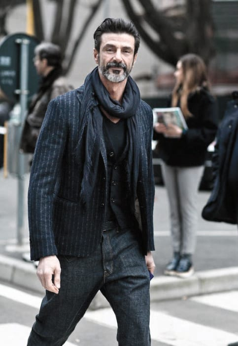 Fashion Mens Beard Styles Grey Ideas
