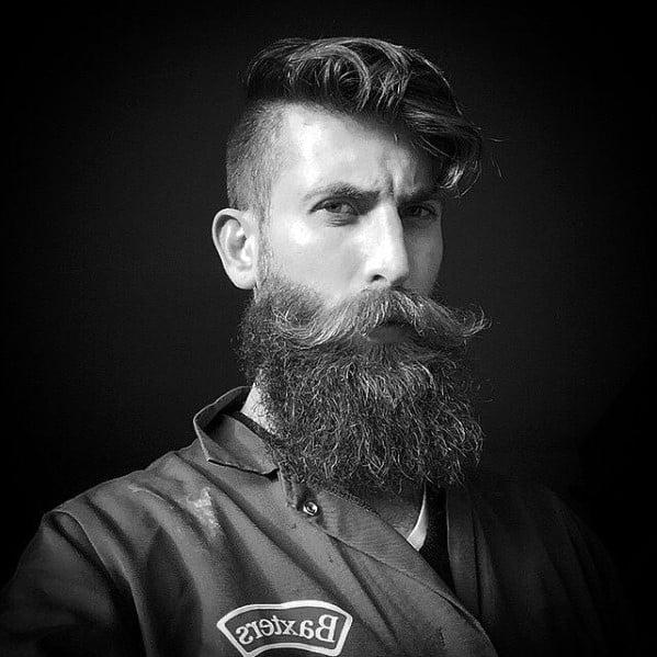 Fashion Mens Beard Styles Manly Ideas