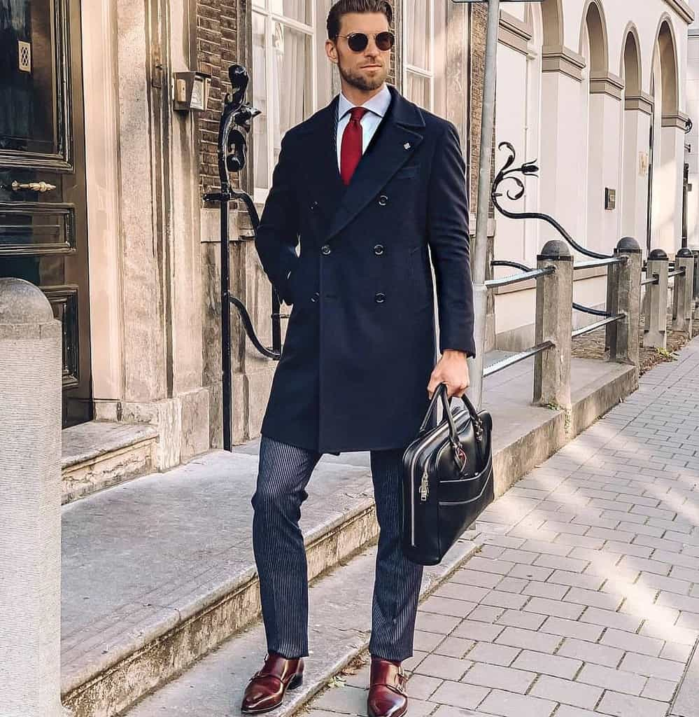 Fashion Model Men Suit Style