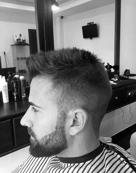 Fashion Word Male Haircuts For Short Thin Hair Taper Fade