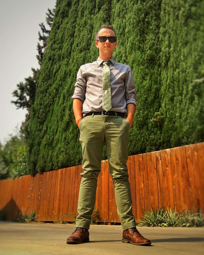 Fashionable Green Pants Outfit