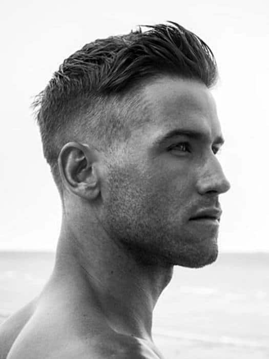 Superior Fashionable Guys Short Hairstyle Thick Hair