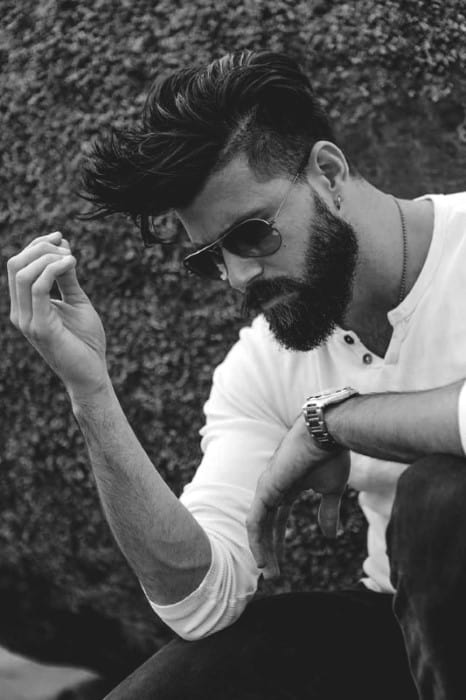 Fashionable Long Hairstyles For Men