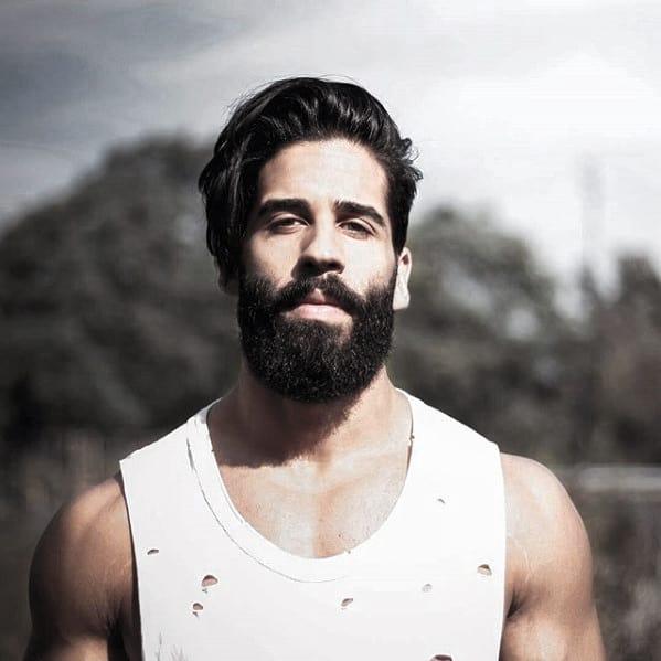 Fashionable Male Beard Medium Styles