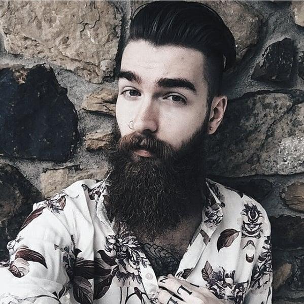 Fashionable Male Beard Nice Styles