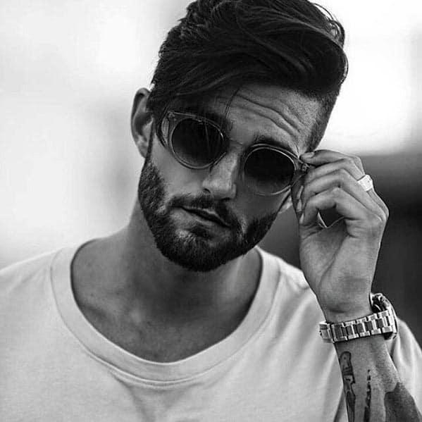Fashionable Male Beard Short Styles