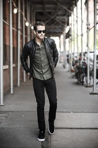 Fashionable Male Black Jeans What To Wear With Outfits Styles