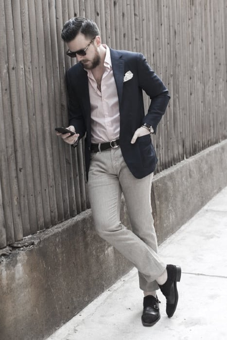 Fashionable Male Khaki Pants What To Wear With Outfits Styles