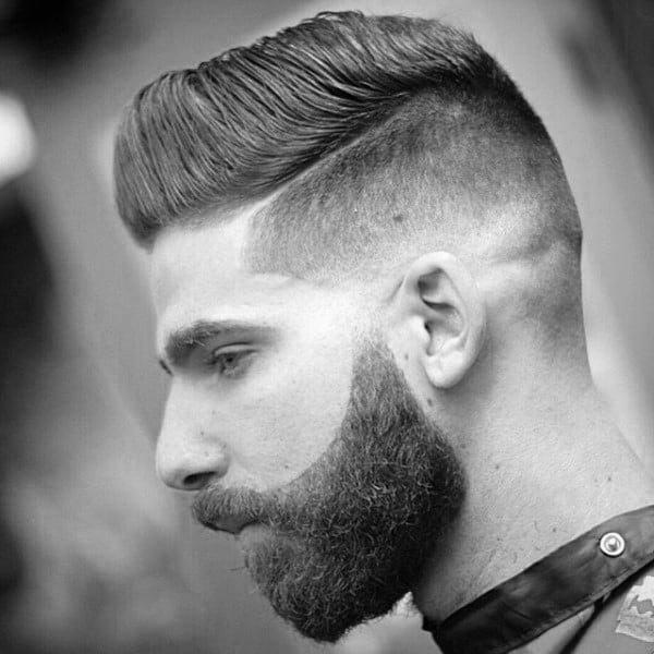 Fashionable Male Skin Fade Haircuts