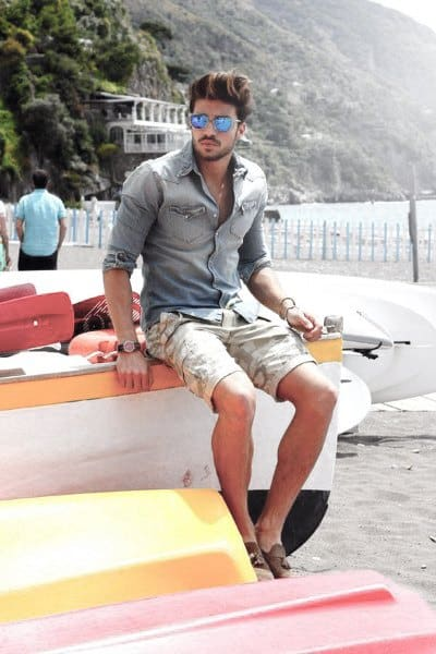 Fashionable Male Summer Outfits Styles