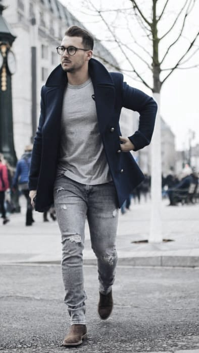 Fashionable Male Winter Outfits Styles