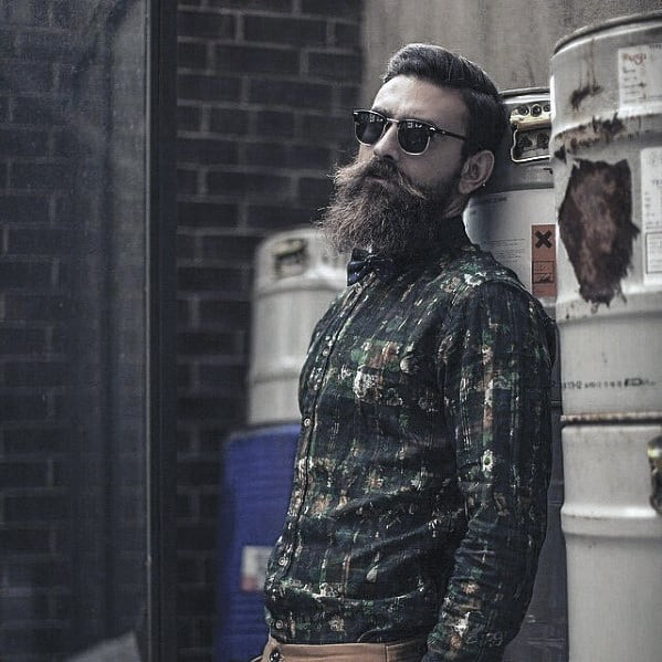 Fashionable Mens Awesome Beard Style Ideas