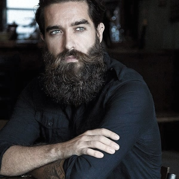 Fashionable Mens Big Beard Style Ideas