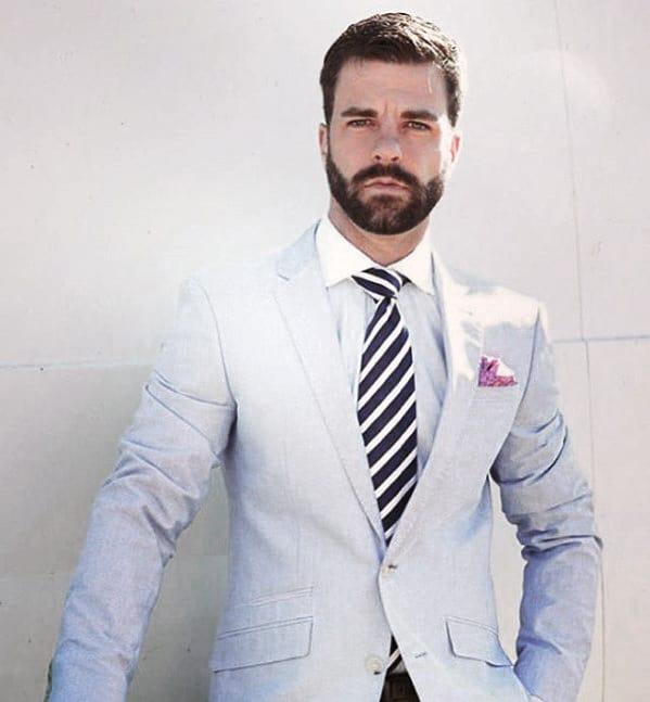 Fashionable Mens Classy Beard Style Ideas