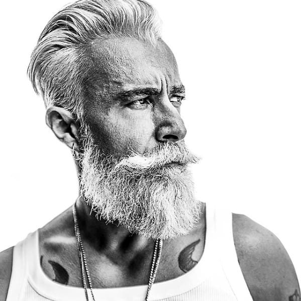 Fashionable Mens Manly Beard Style Ideas