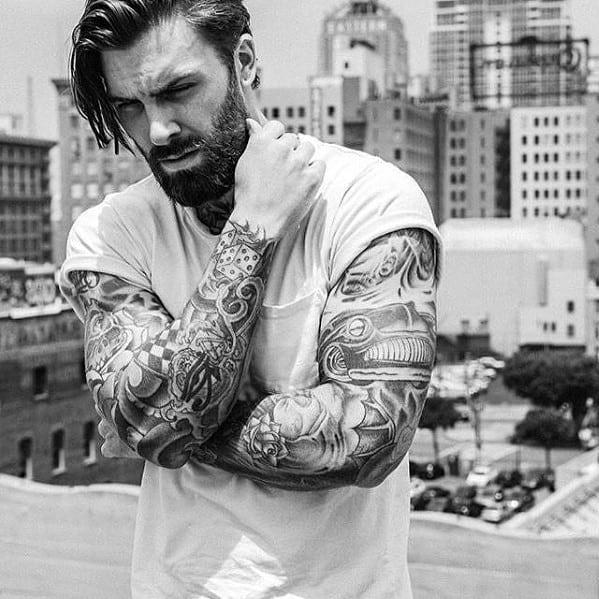 Fashionable Mens Medium Beard Style Ideas