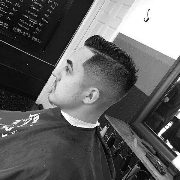 Fashionable Mens Short Fade Haircuts