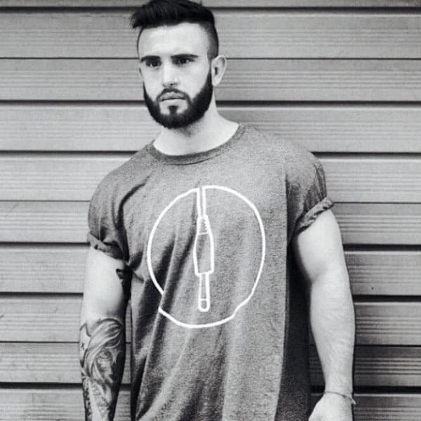 Fashionable Mens Short Hair With Beard Styles
