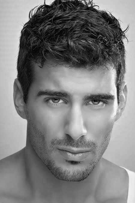 Fashionable Mens Short Haircuts For Men With Wavy Hair